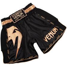 Venum Giant Lightweight Muay Thai Shorts - Black/Gold