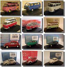 VW Cars & Vans Oxford Diecast 1/76 New Dublo, Railway Scale