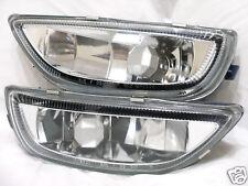 For 2001 2002 Corolla Glass Fog Light Lamp RL H One Pair W/2 Light Bulbs NEW