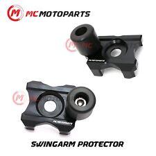 CNC Swingarm Protectors Axle Block Sliders For Kawasaki Z300 2014-2018