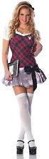 Sexy Adult Halloween Playboy™ Collegiate Cutie Schoolgirl Costume