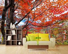 3D Maple Trees 594 WallPaper Murals Wall Print Decal Wall Deco AJ WALLPAPER