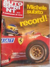 Autosprint 44 1983 Alboreto Ferrari subito record