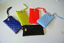Women Soft wrist strap Purse Clutches Wallet Coins Bag Handbag Gift iphone case