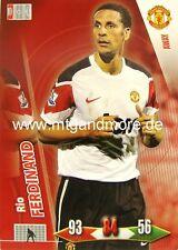 Adrenalyn XL Man. united-Rio Ferdinand-Away