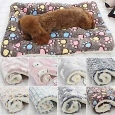 Dog Cat Puppy Pet Plush Blanket Mat Warm Sleeping Soft Bed Blankets Supplies HOT