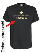 A star was born -- T-Shirt, Funshirts, große Größen und Übergrößen (UGRBL028)
