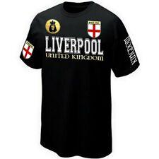 T-Shirt LIVERPOOL ENGLAND ANGLETERRE UNITED KINGDOM - ultras Maillot