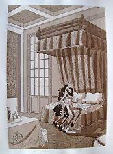 JEAN GRADASSI Memoirs of Cardinal Dubois 1950 Illustration Brothel Porn