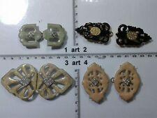 alamari bottone gioiello alamaro chiusura giacca buttons bouton vintage lotto g1