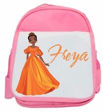 Personalised niña princesa Mochila/Mochila/Bolso 4 Diseños Disponible