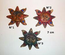 aimant soleil,7 cm, magnets soleils, envoi gratuit 3 couleurs au choix   *G-T1