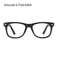 Lunettes de Vue pour Myopie Noir Shaub & Fischer -0.25 à -6.00