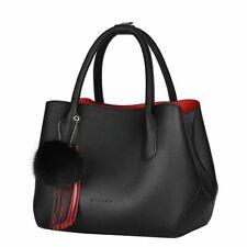 Women Leather Handbag Luxury Design Vintage Casual Tote Shoulder Messenger Bag