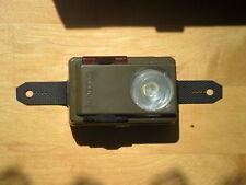 Schöne Taschenlampe BW Amper Lite weiss/rot/grün