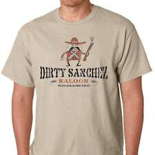 Dirty Sanchez Saloon funny offensive tijuana hooch en beer mexico gift T-shirt