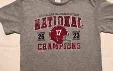 2018 Alabama Crimson Tide Championship Score T-shirt