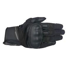 10% Off ALPINESTARS BOOSTER Anthracite Leather Motorbike Short Gloves
