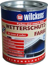 Wetterschutzfarbe,Deck-u.Schutzfarbe,seidenglanz,Innen/Außen,UVbeständig,Aqua.