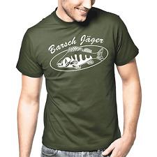Barsch Jäger | Angeln | Angler Shirt | Angler T-Shirt | Fisch | S-XXL T-Shirt