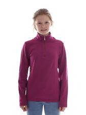 CMP Fleecepullover Funktionsshirt Oberteil lila Stretch atmungsaktiv
