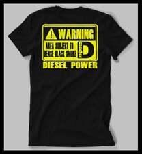 Duramax warning shirt smoke logo Diesel Power all sizes
