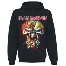 IRON MAIDEN Hooded Sweatshirt OFFICIAL  Final Frontier Big Head   HOODIE