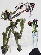 新世紀福音戰士 真希波EVA Evangelion Portraits OVA Part 6 Makinami  Mari + Kaiyodo Yamaguchi Revoltech 112 Evangelion EVA-05 Mark 5 Figure