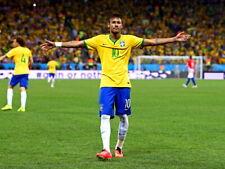 Neymar Jr 2014 FIFA World Cup Brazil Soccer Football Giant Print POSTER Affiche