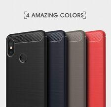 Housse etui coque silicone gel carbone pour Xiaomi Mi A2 + film ecran