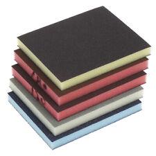 2Pcs Polishing Sanding Sponge Block Pad Sandpaper Assorted Abrasive Tool fg