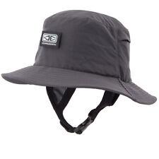 Mens Bingin Soft Peak Surfing Surf Hat In Black From Ocean & Earth