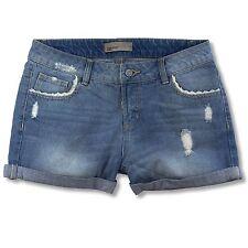 VERO MODA Damen Jeans Shorts Hotpants Destroyed Effekte Used Waschung Kurze  Hose e1d1830296
