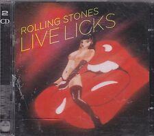 ROLLING STONES - live licks CD