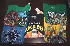 Boy's T-shirt Graphic Tee Teenage Mutant Ninja Turtles Fruit Ninja L/Large 10/12