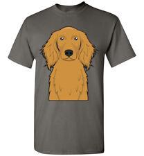 Irish Setter Dog Cartoon T-Shirt Tee - Men Women Ladies Youth Kids Tank Long