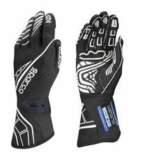 FIA SPARCO gloves LAP RG-5 BLACK/WHITE rally SIZES 8 9 10 11 12