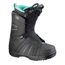 2018 Salomon Scarlet Black Womens Snowboard Boots