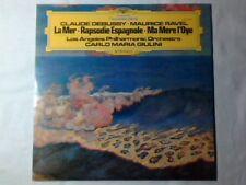 CARLO MARIA GIULINI Debussy La mer - Ravel ma mere lp