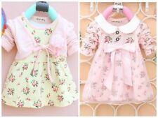 BNWT Baby Girls Verano Flor Bow Dress Aged 0months-12months (sku171)