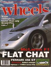 Wheels Jul 93 W202 C180 E36 320i XR8 MX5 e34 touring