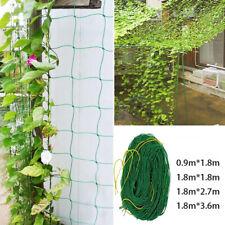 Vegetable Flower Vine Plants Climbing Net Garden Cucumber Trellis Netting AU