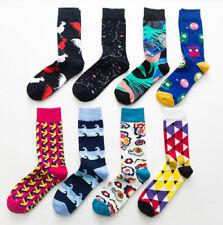 Unisex Men Women Cotton Warm Winter Cartoon Constellation Casual Happy Socks Sox
