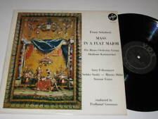 LP/SCHUBERT/GROSMANN/MASS A FLAT/FELBERMAYER/VOX 9760