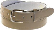 Ledergürtel in 3cm Breite beige! Gürtel echt Leder