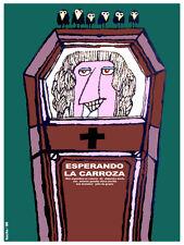 Esperando la carroza vintage Movie POSTER.Graphic Design. Art Decoration.3315