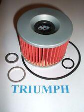 TRIUMPH Filtro De Aceite/o Anillo Kit Tridente Sprint Daytona Tigre Velocidad Triple trofeo