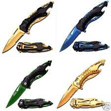 MC MTECH USA Knife Coltello Coltellino Coltello a serramanico coltello da caccia supporta MOLLA