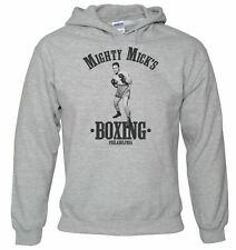 Men's Mighty lrlandais Boxe Sweat à Capuche-Drôle Rétro combat ring Gym Gants Club Rocky