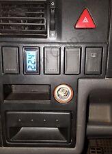 VW T4 CARAVELLE DASH panel en blanco cubierta de interruptor de botón Termómetro Digital